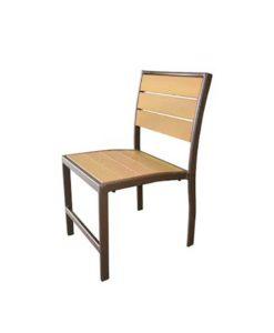 Eco Wood Armless Dining Chair - EW-49